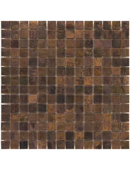 Mosaikmatte, BxL: 30,8 x 30,8 cm, Wandbelag