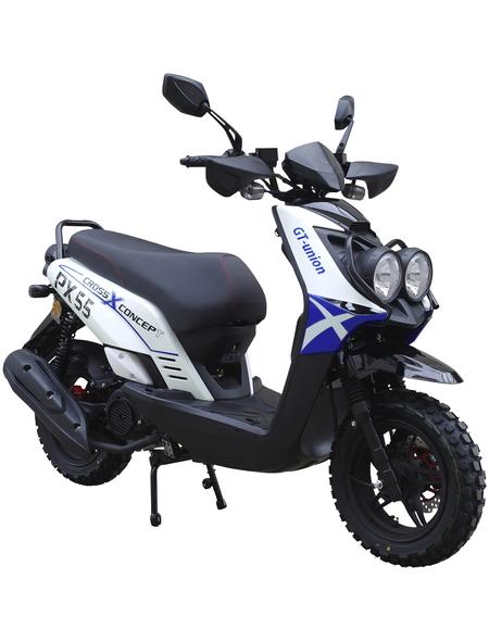 GT UNION Motorroller, 125  cm³, 85 km/h, Euro 4