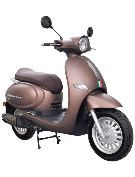 ALPHAMOTORS Motorroller »Cappucino«, 50  cm³, 45 km/h, Euro 4