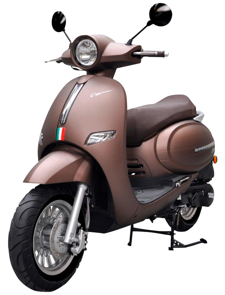 ALPHAMOTORS Motorroller »Cappucino«, 80 km/h