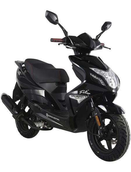 ALPHAMOTORS Motorroller »Falcon«, 50  cm³, 45 km/h, Euro 4