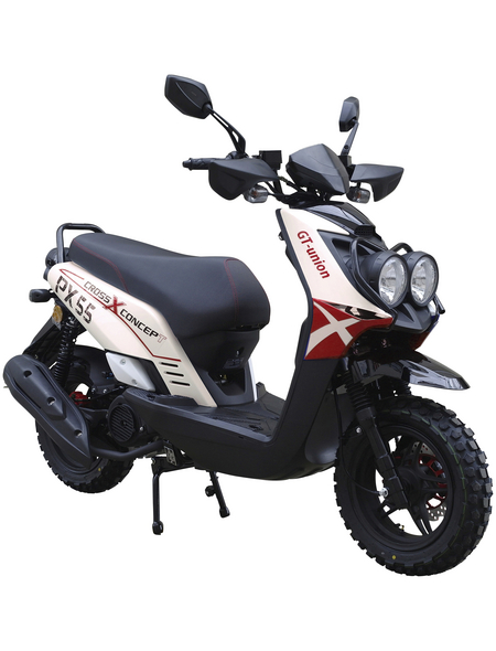 GT UNION Motorroller »PX55 Cross-Concept«, 125 cm³, 85 km/h, Euro 4