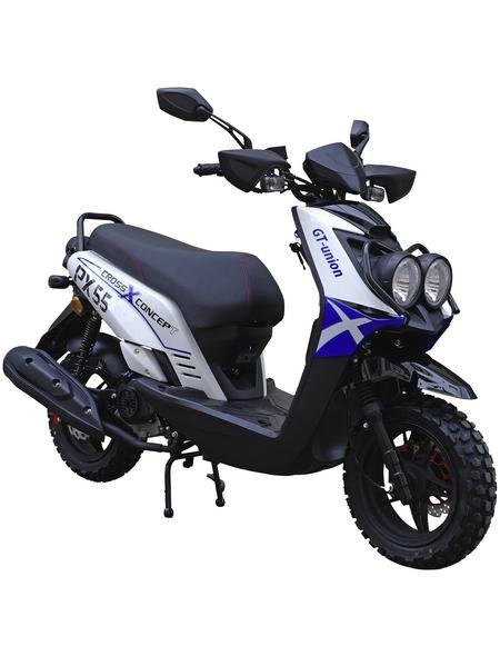 GT UNION Motorroller »PX55 Cross-Concept«, 50 cm³, 45 km/h, Euro 4