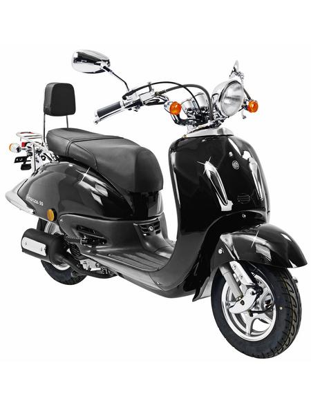 ALPHAMOTORS Motorroller »Retro Firenze«, 125 cm³, 80 km/h, Euro 4