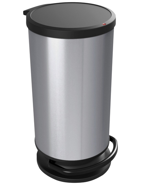 Rotho Mülleimer »Paso«, Trittmechanismus, 30 l, Kunststoff