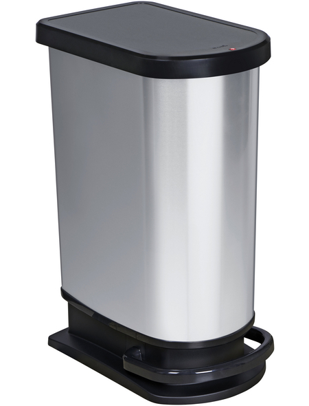 Rotho Mülleimer »Paso«, Trittmechanismus, 50 l, Kunststoff