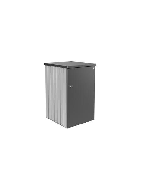 BIOHORT Mülltonnenbox »Alex«, aus Stahlblech, 80x129x88cm (BxHxT), 740 Liter