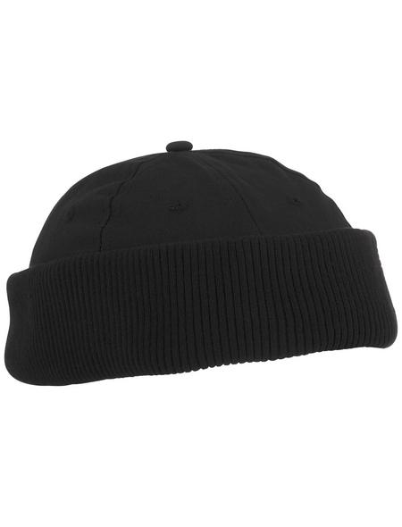 SAFETY AND MORE Mütze, Baumwolle, schwarz