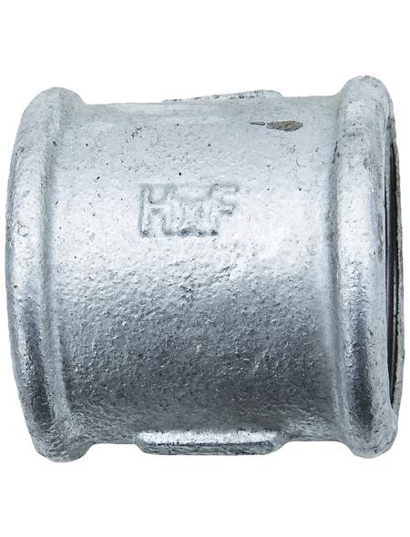 CORNAT Muffe, Nr. 270, mit 2 Innengewinden, 1 1/4 Z IG