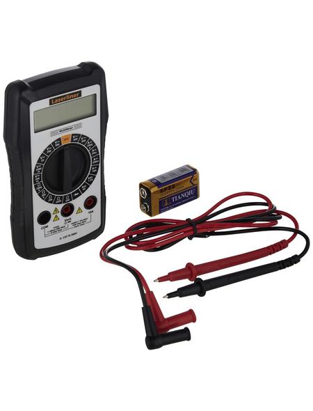 laserliner® Multimeter »Digital-Multimeter«, schwarz/weiss