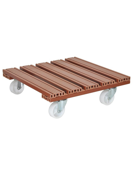 WAGNER Multiroller »GreenHome«, BxL: 38,5 x 38,5 cm, Holz-Polymer-Werkstoffe (WPC)