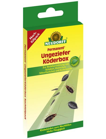 NEUDORFF Nachfüllpack »Perm.Ungeziefer Köderbox Nachfüllpack «, Kunststoff, 4 Stk.
