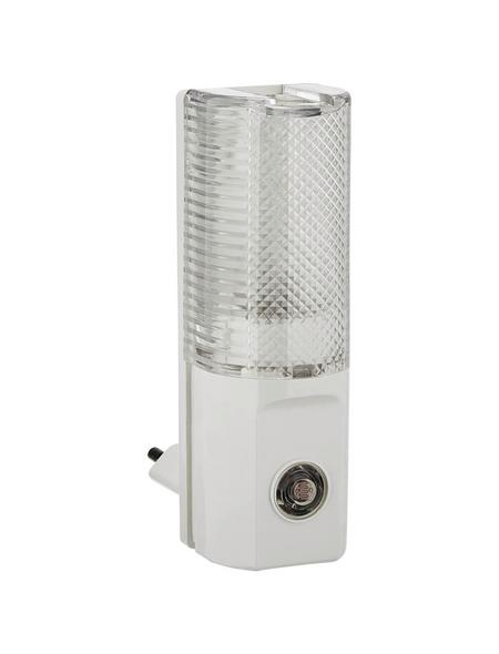 REV Nachtlicht mit Dämmerungsautomatik weiß 5 W 4 x 11 x 7 cm