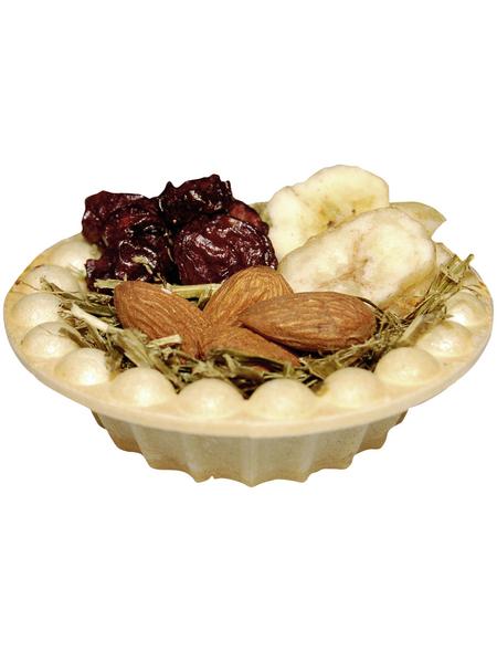 VITAKRAFT Nager-Fruchtkörbchen, 18 g, Kirsche/Banane/Mandeln/Luzerne