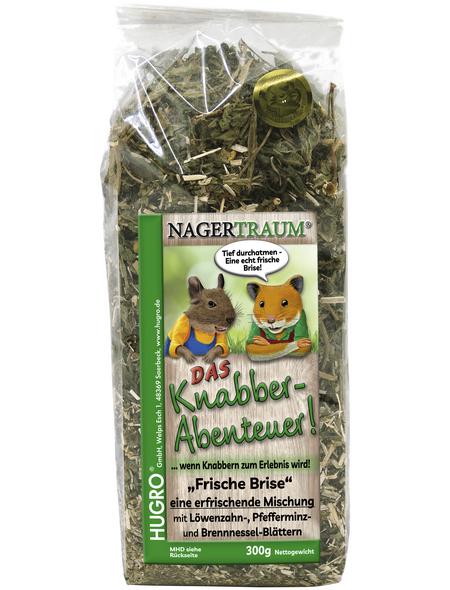 HUGRO Nager-Knabberstreu »Brise«, 300 g, verschiedene Kräuter