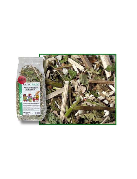 HUGRO Nager-Knabberstreu »Denta«, 400 g, Echinacea/Topinambur/Haselnuss