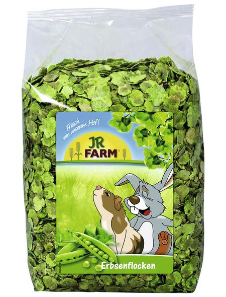 JR FARM Nager-Snacks »Erbsenflocken«, Erbsen, 4x1 kg