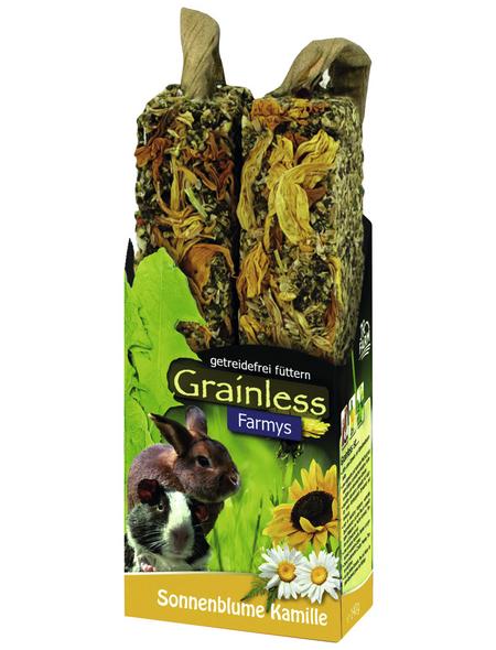 Nager-Snacks, JR Grainless Sonnenblumen-Kamille
