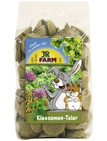 JR FARM Nager-Snacks »Kleesamen-Taler«, Klee,  8x200 g