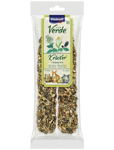 VITAKRAFT Nager-Snacks »Vita Verde® Kräcker®«, 80 g (2 Kräcker), Kräuter