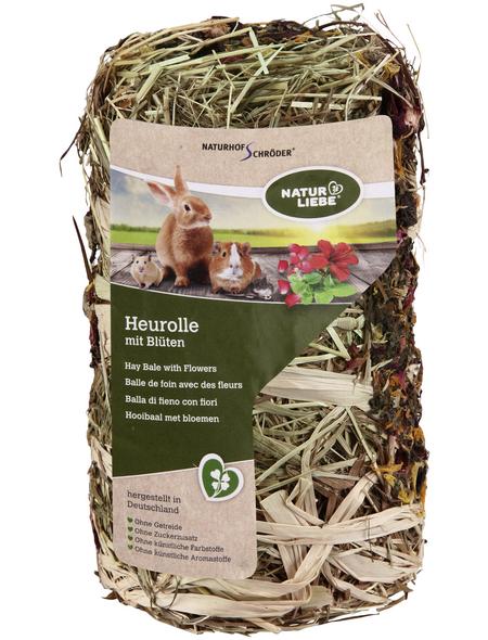 Natur Liebe Nagersnack »Heu-Rolle«, 200 g, Heu/Blüten