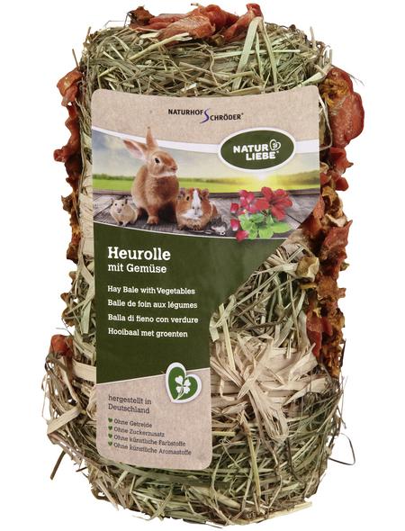 Natur Liebe Nagersnack »Heu-Rolle«, 200 g, Heu/Gemüse