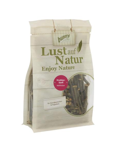 BUNNYNATURE Nagersnack »Lust auf Natur«, 220 g, Apfelhölzer