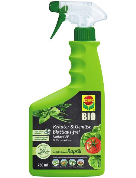 COMPO Nativert® Kräuter & Gemüse Blattlaus-frei AF 750 ml