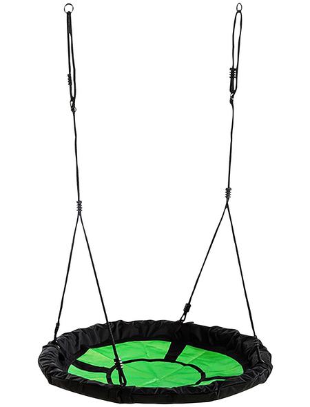 WEKA Nestschaukel »Tabaluga«, Ø: 100 cm, grün/schwarz