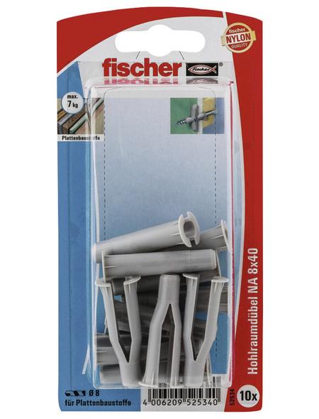FISCHER Nietanker, 10 Stück, 8 x 40 mm