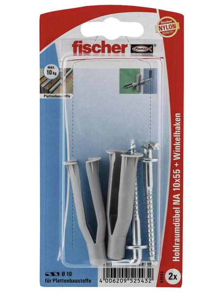 FISCHER Nietanker, 2 Stück, 10 x 55 mm