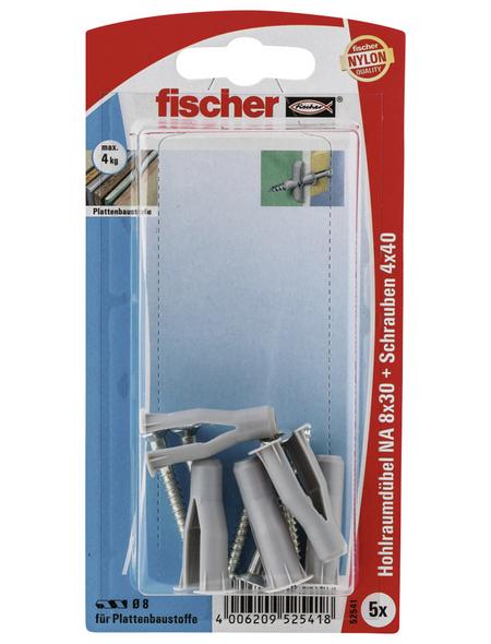 FISCHER Nietanker, 5 Stück, 8 x 30 mm