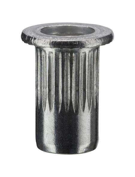 NOVUS Nietmutter, A6, Aluminium, Ø 6 x 10,5 mm, 10 St.