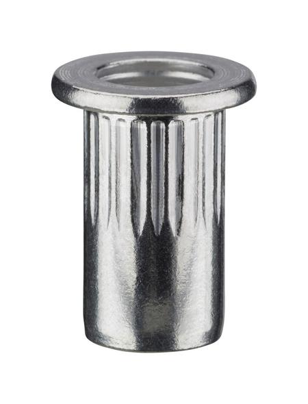 NOVUS Nietmutter, A7, Aluminium, Ø 7 x 11,5 mm, 10 St.