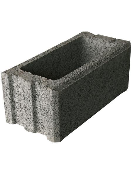 EHL Normalstein, BxHxL: 25 x 50 x 20 cm, offenporig, Beton