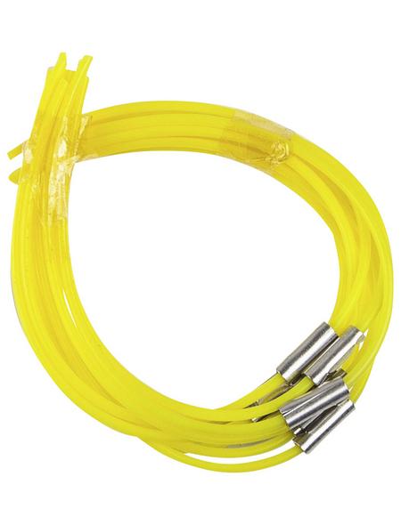 Nylonfaden, Kunststoff, gelb