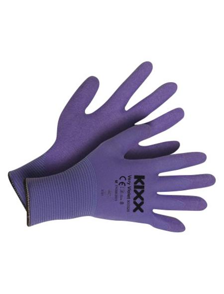 KIXX Nylonhandschuhe »Nylon/Latex«, lila