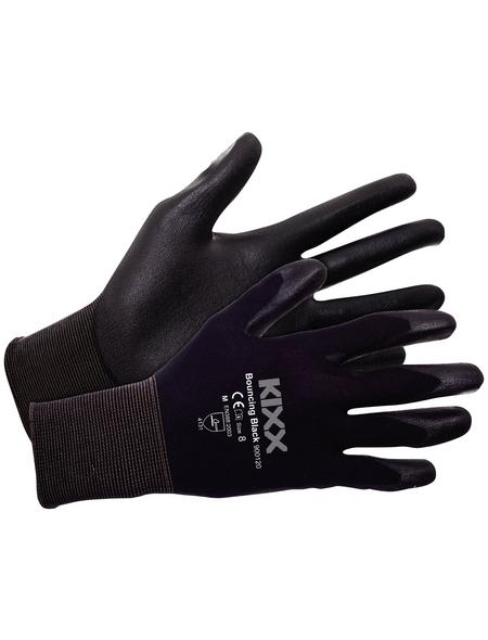 KIXX Nylonhandschuhe »Nylon/Polyurethan«, schwarz
