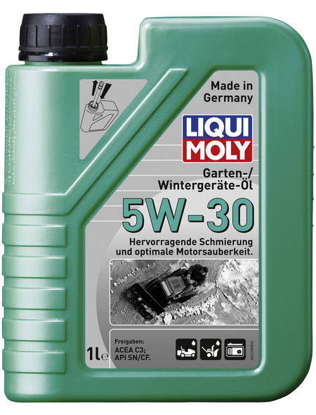 LIQUI MOLY Öl, 1 l, Dose, Garten-/Wintergeräte-Öl 5W-30
