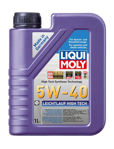 LIQUI MOLY Öl, 1 l, Kanister, Leichtlauf High Tech 5W-40