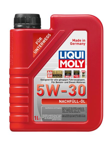 LIQUI MOLY Öl, 1 l, Kanister, Nachfüll-Öl 5W-30