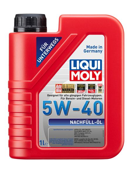 LIQUI MOLY Öl, 1 l, Kanister, Nachfüllöl 5W-40