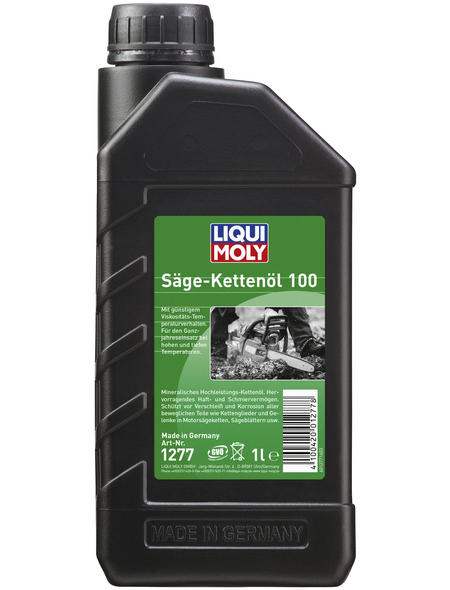 LIQUI MOLY Öl, 1 l, Kanister, Sägekettenöl 100