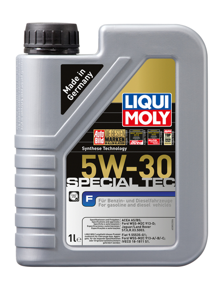 LIQUI MOLY Öl, 1 l, Kanister, Special Tec F 5W-30