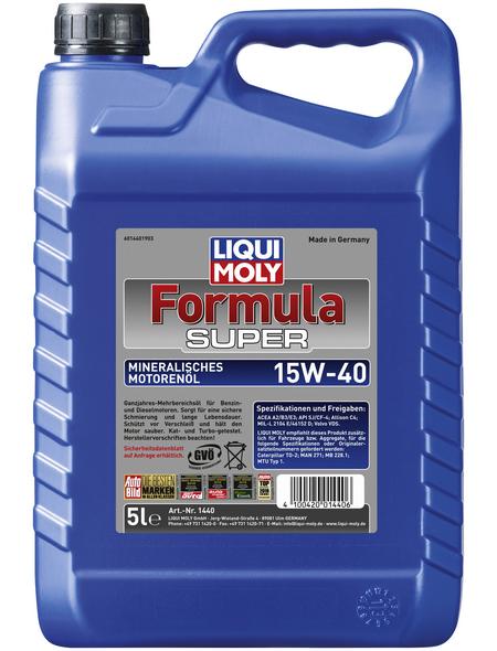 LIQUI MOLY Öl, 5 l, Kanister, Formula Super 15W-40