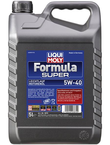 LIQUI MOLY Öl, 5 l, Kanister, Formula Super 5W-40