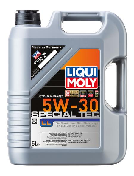 LIQUI MOLY Öl, 5 l, Kanister, Special Tec LL 5W-30