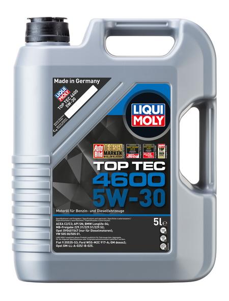 LIQUI MOLY Öl, 5 l, Kanister, Top Tec 4600 5W-30