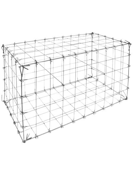 BELLISSA Ösengabione, BxHxL: 50 x 50 x 100 cm, Stahl