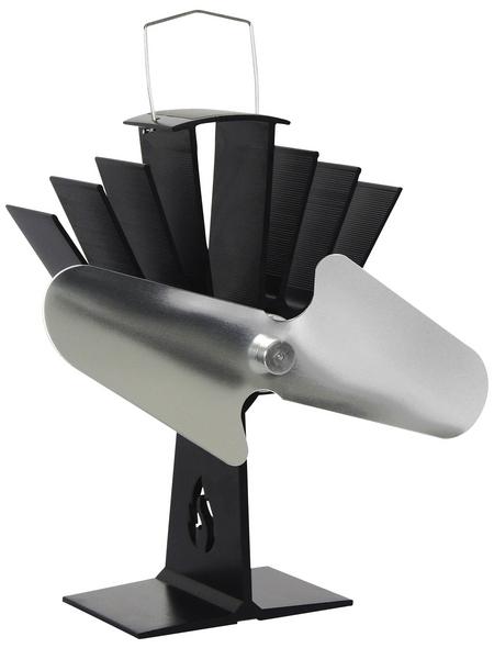 EL FUEGO Ofenventilator, Breite: 16 cm, Aluminium
